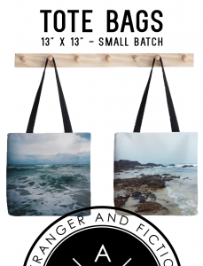 two totes - beach